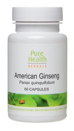 American Ginseng - 60 vcaps