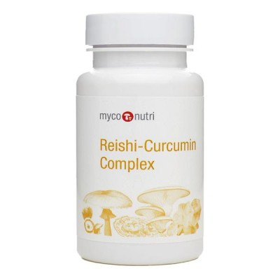 MycoNutri Reishi-Curcumin Complex 60 Capsules