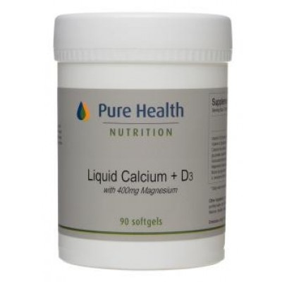 Liquid Calcium 1,000 iu D3 - 90 softgels
