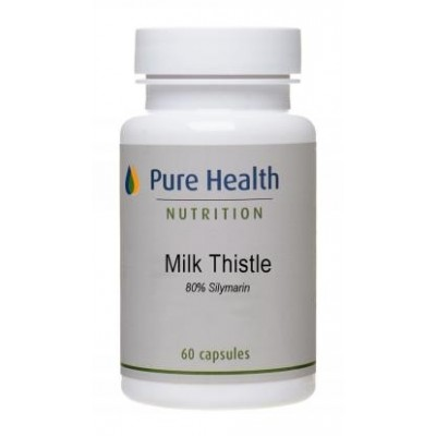 Milk Thistle Extract (80% Silymarin) - 60 capsules