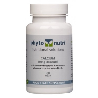 Calcium 30mg Food State (60 tabs)