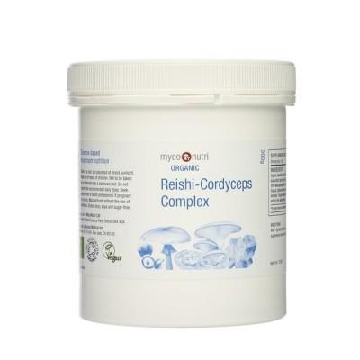 MycoNutri Organic Reishi-Cordyceps Complex 200g Powder