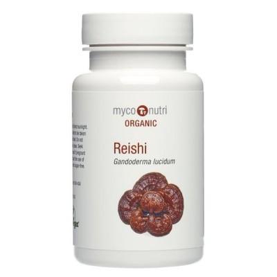 MycoNutri Organic Reishi 60 capsules (Ganoderma lucidum)