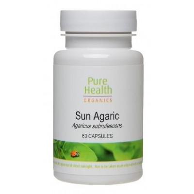 Organic Sun Agaric - 60 capsules