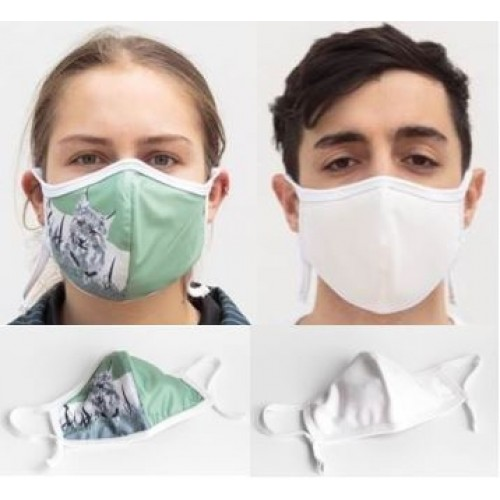 ECO Friendly Cloth Washable Facemask with Nanofiber Filter